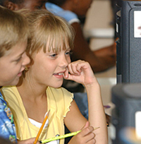 NASA Computer Kids Image