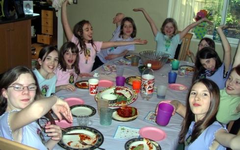 Hannah's Mii Birthday Party Gone Wild!